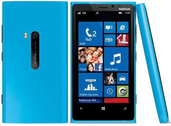 Lumia mini 920 - 2 chips - Tela 3 5   azulNokia Lumia 920 Blue Atandt